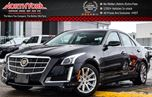 2014 Cadillac CTS Luxury AWD Bluetooth SatRadio Htd/VntdFrontSeats 17Alloys  in Thornhill, Ontario