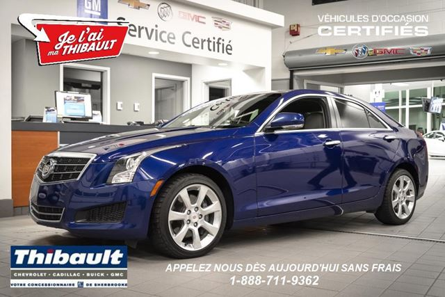 2013 Cadillac ATS Luxury in Sherbrooke, Quebec
