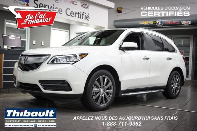 2016 acura mdx tech pkg white thibault chevrolet. Black Bedroom Furniture Sets. Home Design Ideas