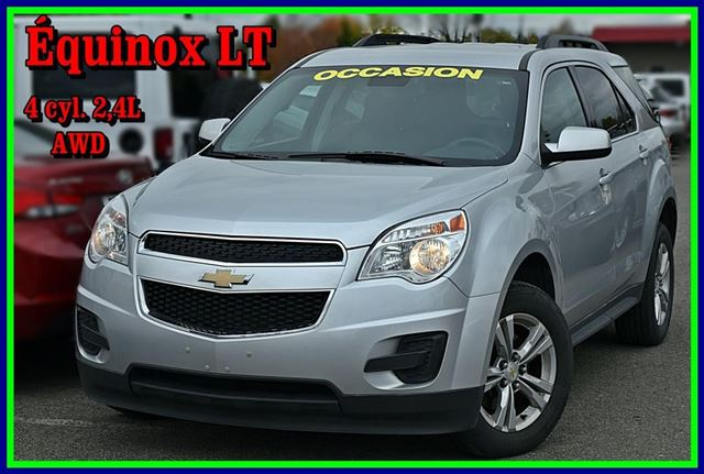2014 chevrolet equinox lt saint jerome quebec used car for sale 2667180. Black Bedroom Furniture Sets. Home Design Ideas