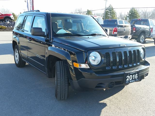 2016 jeep patriot sport 4x2 air conditioning belleville. Black Bedroom Furniture Sets. Home Design Ideas
