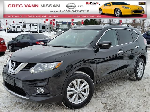 2015 nissan rogue sv awd 7 passenger w nav pan roof rear cam climate heated seats cambridge. Black Bedroom Furniture Sets. Home Design Ideas