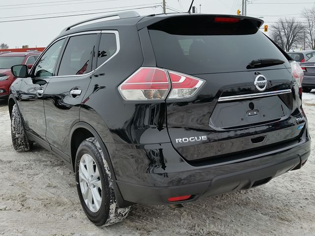 2015 nissan rogue sv awd 7 passenger w nav pan roof rear cam climate heated seats black greg. Black Bedroom Furniture Sets. Home Design Ideas