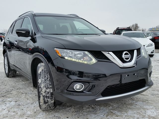 used 2015 nissan rogue sv awd 7 passenger w nav pan roof rear cam climate heated seats. Black Bedroom Furniture Sets. Home Design Ideas