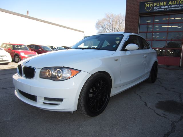2008 bmw 1 series 128i coupe 117 000 km ottawa ontario used car for sale 2668258. Black Bedroom Furniture Sets. Home Design Ideas