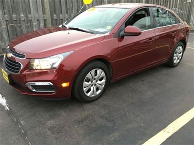 2015 chevrolet cruze 1lt automatic back up camera burlington ontario used car for sale. Black Bedroom Furniture Sets. Home Design Ideas