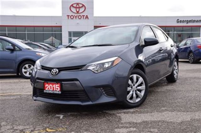 2015 toyota corolla le georgetown ontario used car for sale 2668503. Black Bedroom Furniture Sets. Home Design Ideas