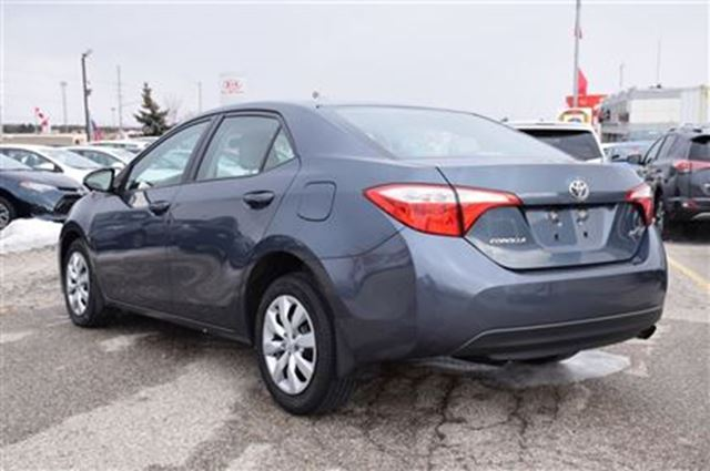 2015 toyota corolla le georgetown ontario used car for sale 2668505. Black Bedroom Furniture Sets. Home Design Ideas
