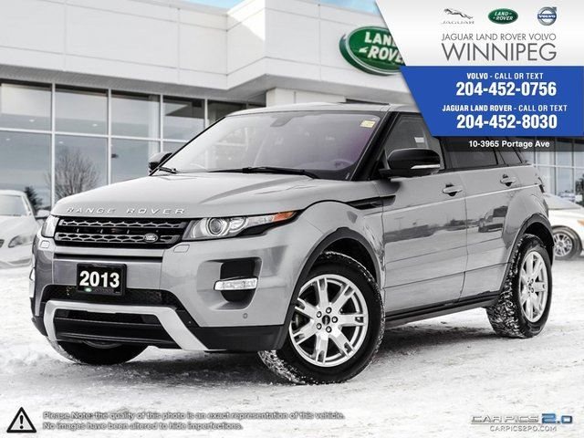 2013 LAND ROVER RANGE ROVER EVOQUE Dynamic Premium W/Winter Tires!! in Winnipeg, Manitoba