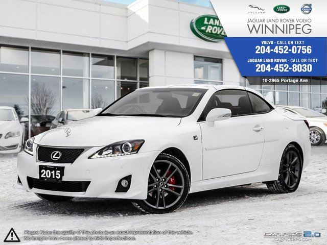 2015 lexus is 250 2dr conv auto winnipeg manitoba used car for sale 2668169. Black Bedroom Furniture Sets. Home Design Ideas