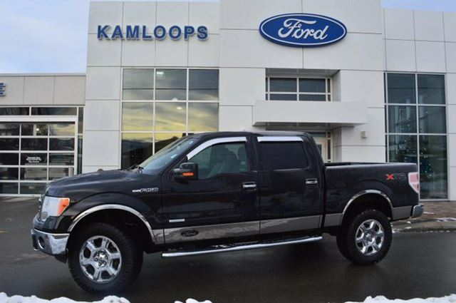 2013 ford f 150 xlt 4x4 supercrew cab 5 5 ft box 145 in wb kamloops british columbia used. Black Bedroom Furniture Sets. Home Design Ideas
