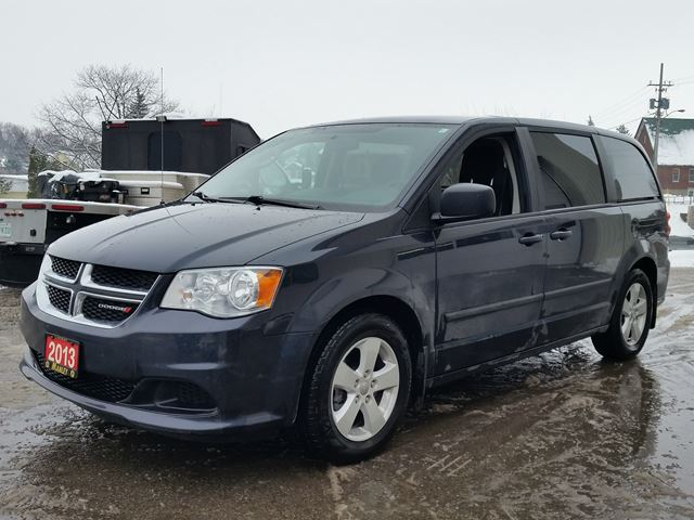 2013 dodge grand caravan se blue manley motors limited for Manley motors used cars