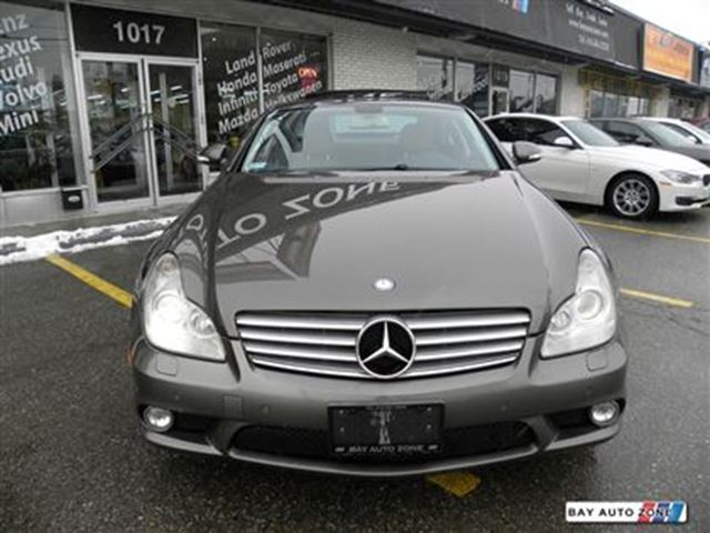 Used 2008 mercedes benz cls class v 8 cy 550 amg pkg for 2008 mercedes benz cls class