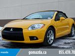 2009 Mitsubishi Eclipse SPYDER GTP/ AUTO/2 SETS OF RUBBER/ NO FEES in Edmonton, Alberta