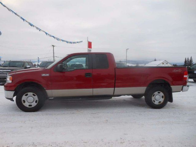 2007 ford f 150 xlt 4x4 super cab styleside 8 ft box 163 in wb dawson creek british. Black Bedroom Furniture Sets. Home Design Ideas