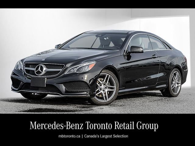2016 mercedes benz e400 4matic coupe mississauga ontario used car for sale 2669182. Black Bedroom Furniture Sets. Home Design Ideas