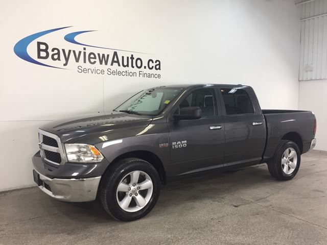 2016 dodge ram 1500 slt hemi crew cab 4x4 alloys touch screen belleville ontario used. Black Bedroom Furniture Sets. Home Design Ideas