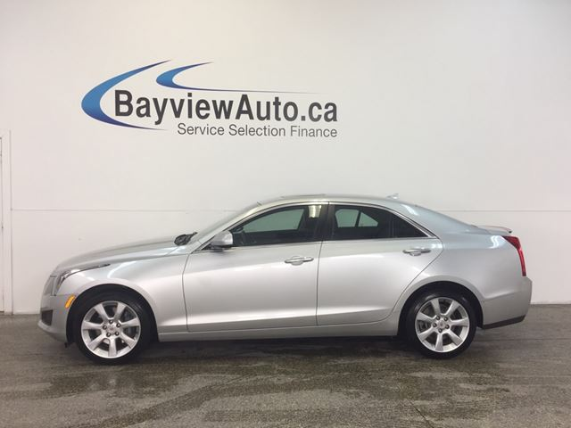 2014 CADILLAC ATS - TURBO! AWD! SUNROOF! REVERSE CAM! BOSE SOUND! in Belleville, Ontario