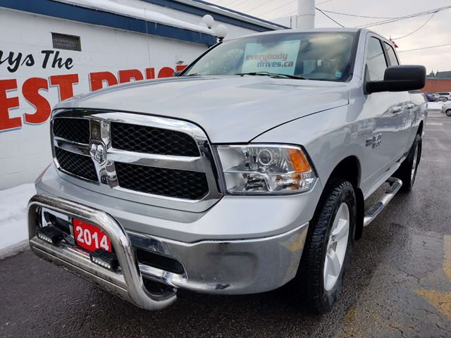 used 2014 ram 1500 slt quad cab 4x4 5 7l hemi oshawa. Black Bedroom Furniture Sets. Home Design Ideas
