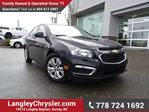 2015 Chevrolet Cruze 1LS LOW KMS & ACCIDENT FREE in Surrey, British Columbia