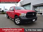 2014 Dodge RAM 1500 ST LOCALLY DRIVEN, ONE OWNER & ACCIDENT FREE in Surrey, British Columbia