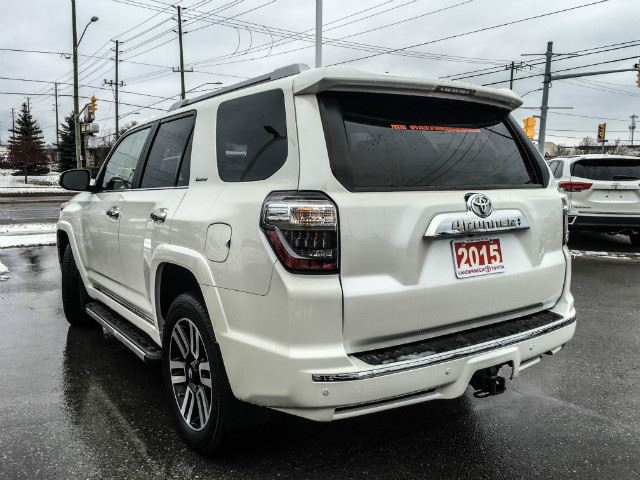 2015 toyota 4runner limited xtra warranty 120 000kms cobourg ontario used car for sale. Black Bedroom Furniture Sets. Home Design Ideas