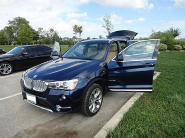 2016 bmw x3 awd 4dr xdrive28i very new mississauga ontario used car for sale 2669510. Black Bedroom Furniture Sets. Home Design Ideas