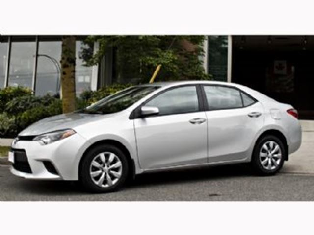 2014 toyota corolla 4dr sdn cvt le silver lease busters. Black Bedroom Furniture Sets. Home Design Ideas