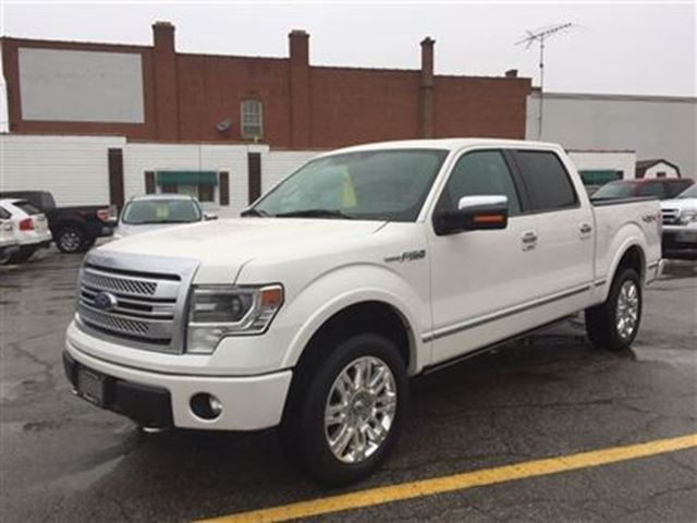 2013 ford f 150 platinum 5 0l 4x4 hagersville ontario used car for sale 2670141. Black Bedroom Furniture Sets. Home Design Ideas