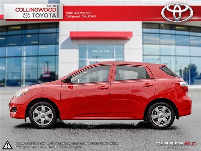 2010 toyota matrix convenience package snow tires collingwood ontario used car for sale. Black Bedroom Furniture Sets. Home Design Ideas