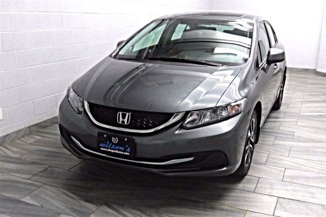 2013 honda civic ex sedan sunroof heated seats power for Honda civic sunroof