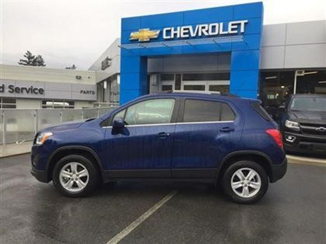 2016 Chevrolet Trax LT in Victoria, British Columbia