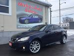 2011 Lexus IS 250 AWD, NAVIGATION, BACKUP-CAM, PADDLE SHIFT, GLASS SUNROOF, ACCIDENT FREE! $0 DOWN $183 BI-WEEKLY! in Ottawa, Ontario