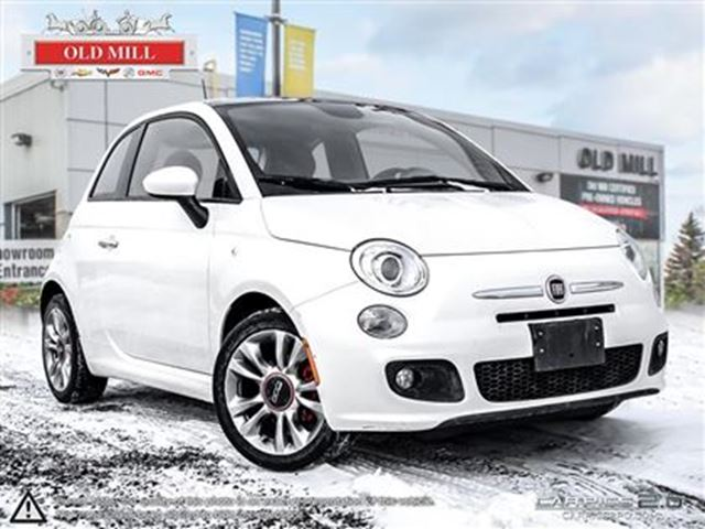 2014 fiat 500 sport white old mill cadillac buick gmc. Black Bedroom Furniture Sets. Home Design Ideas
