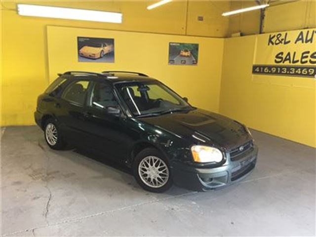 2004 subaru impreza 2 5 ts as is green k and l auto. Black Bedroom Furniture Sets. Home Design Ideas