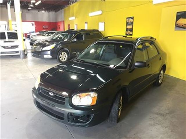 2004 subaru impreza 2 5 ts as is toronto ontario. Black Bedroom Furniture Sets. Home Design Ideas