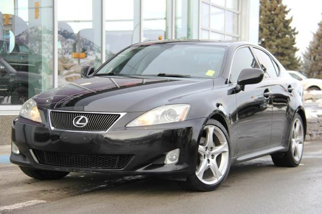 2007 lexus is 250 is250 leather rear wheel drive push starter power glass sunroof v6 2. Black Bedroom Furniture Sets. Home Design Ideas
