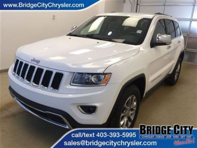 2014 Jeep Grand Cherokee Limited *New Arrival* in Lethbridge, Alberta