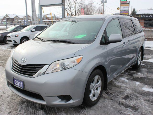 2015 toyota sienna le power doors awd gray 9 auto sales. Black Bedroom Furniture Sets. Home Design Ideas
