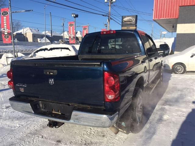 2007 dodge ram 1500 slt financement maison 100 for Automobile financement maison