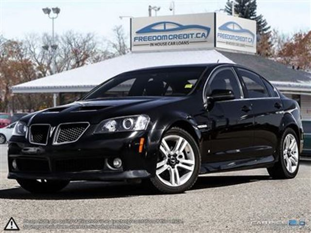 2009 Pontiac G8 Base Loaded in premium condition come see. in Edmonton, Alberta