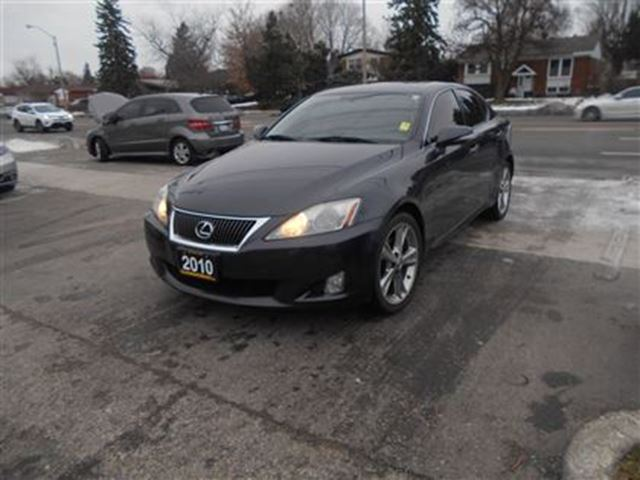 2010 lexus is 250 leather sunroof scarborough ontario. Black Bedroom Furniture Sets. Home Design Ideas