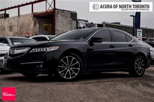 2016 acura tlx 3 5l sh awd w elite pkg renovation sale black acura of north toronto. Black Bedroom Furniture Sets. Home Design Ideas