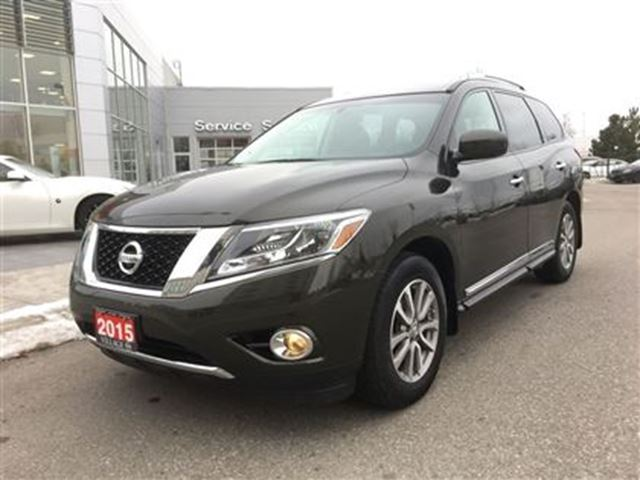 2015 nissan pathfinder sl awd navi leather sunroof markham ontario used car for sale 2671460. Black Bedroom Furniture Sets. Home Design Ideas
