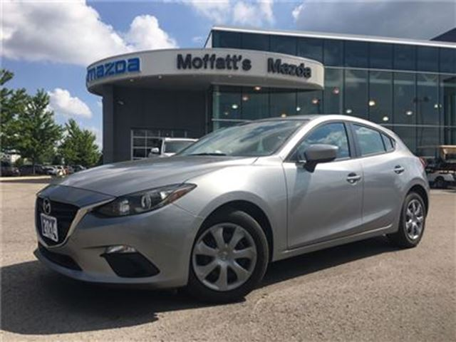 2014 MAZDA MAZDA3 SPORT GX BLUETOOTH, A/C, PUSH BUTTON START in Barrie, Ontario