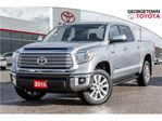 2016 Toyota Tundra LIMITED 5.7L V8,HEATED /LEATHER SEATS,POWER SUNROO in Georgetown, Ontario