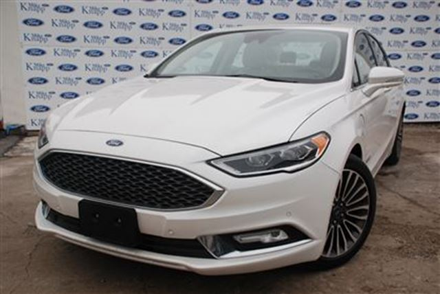 2017 Ford Fusion Platinum*0% FOR 72 MONTHS*Leather*Nav in Welland, Ontario