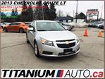 2013 Chevrolet Cruze LT-2+Heated Leather Seats+Remote Starter+BlueTooth in London, Ontario