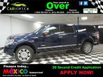 2013 Ford F-150 PLATINUM CREW 4X4 - REMOTE START**HEATED LEATHER in Kingston, Ontario