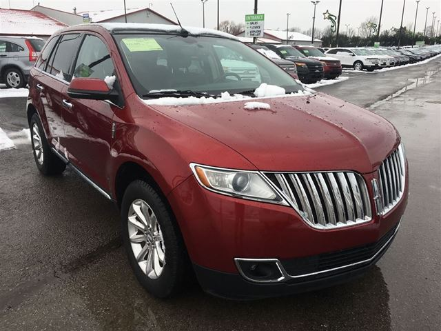 2013 lincoln mkx cayuga ontario used car for sale 2671797. Black Bedroom Furniture Sets. Home Design Ideas